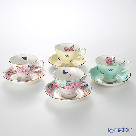 Royal Albert Miranda Kerr Teacups and Saucers (Set Of 4)