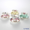Royal Albert x Miranda Kerr 'Assorted' Tea Cup & Saucer 200ml (set of 4 colors)