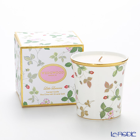 Wedgwood Little Luxuries Wild Strawberry, Strawberry and Vanilla Scented Candle