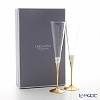 Wedgwood Vera Wang With Love Toasting Flute Gold (Set Of 2)