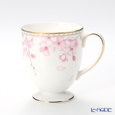 Wedgwood 'Spring Blossom (Cherry Blossom)' Leigh Mug 300ml