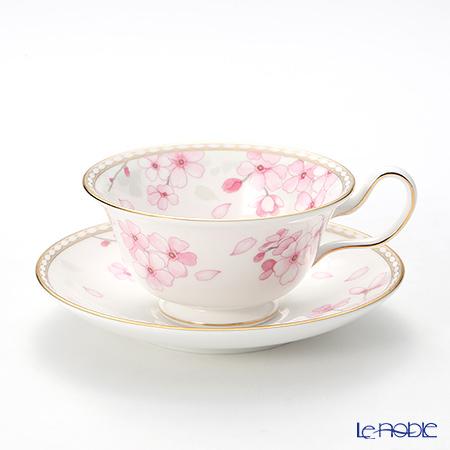 Wedgwood Spring Blossom Peony Teacup & Saucer