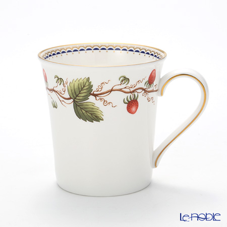 Wedgwood 'Wild Strawberry Archive' Delphi Beaker Mug 300ml