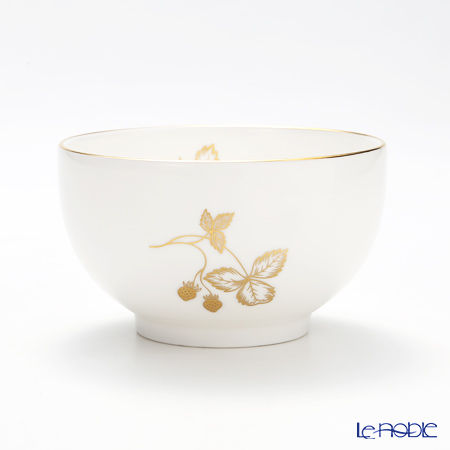Wedgwood Wild Strawberry Al Fresco Gold Bowl 10cm 150ml