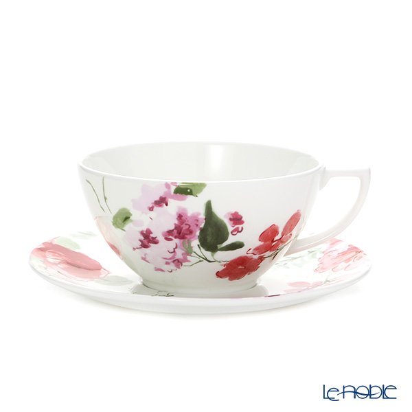 Wedgwood 'Jasper Conran - Floral' Tea Cup & Saucer 300ml