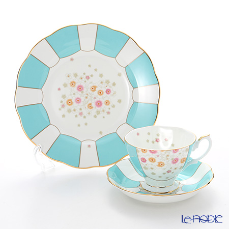 Royal Albert 100 years anniversary collection 1930 Mint Deco 3-Piece Set