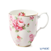 Royal Albert '100 Years Of Royal Albert - 1980 Rose Blush' Pink Mug 417ml