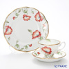 Royal Albert 100 Years Of Royal Albert 1970 Poppy 3-Piece Set, NEW
