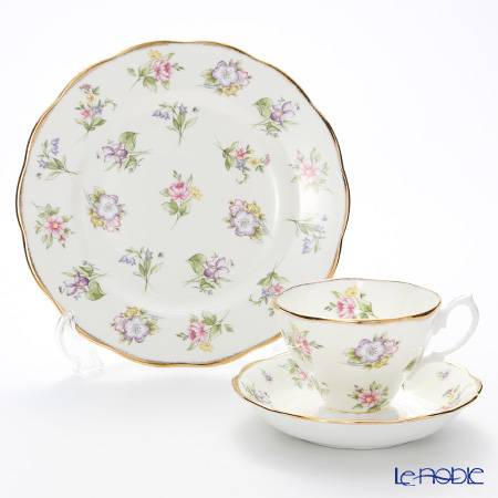 Royal Albert 100 Years Of Royal Albert 1920 Spring Meadow 3-Piece Set, NEW