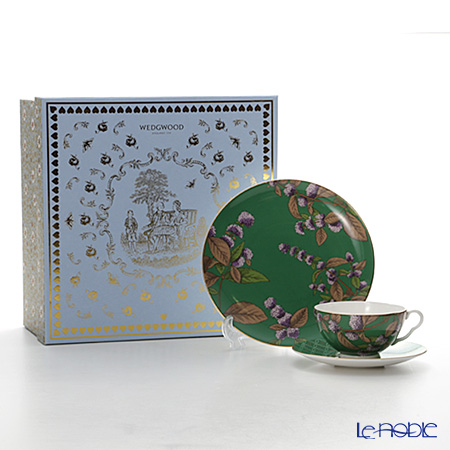Wedgwood Tea Garden Tea & Mint 3-Piece Set