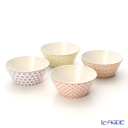 Royal Doulton 'Pastels'  Accent Bowl 11cm (set of 4 / 4 colors)