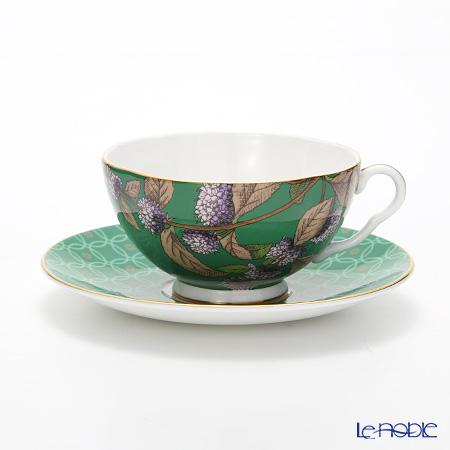 Wedgwood 'Tea Garden - Green Tea & Mint' Tea Cup & Saucer
