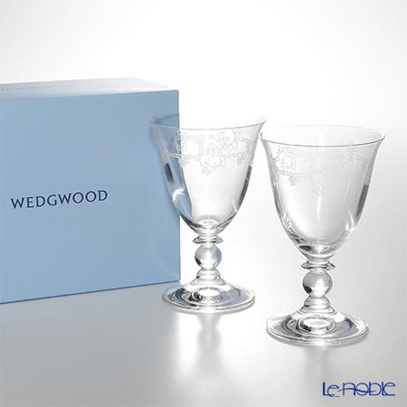 ウェッジウッド(Wedgwood) フェスティビティ クリスタル ワイン 200cc ペア
