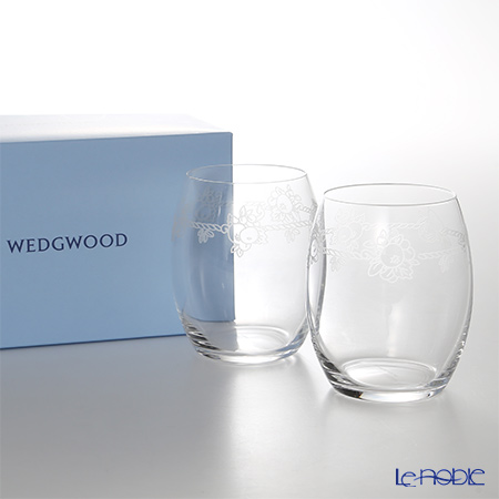 Wedgwood 'Festivity' Crystal Tumbler 300ml (set of 2)