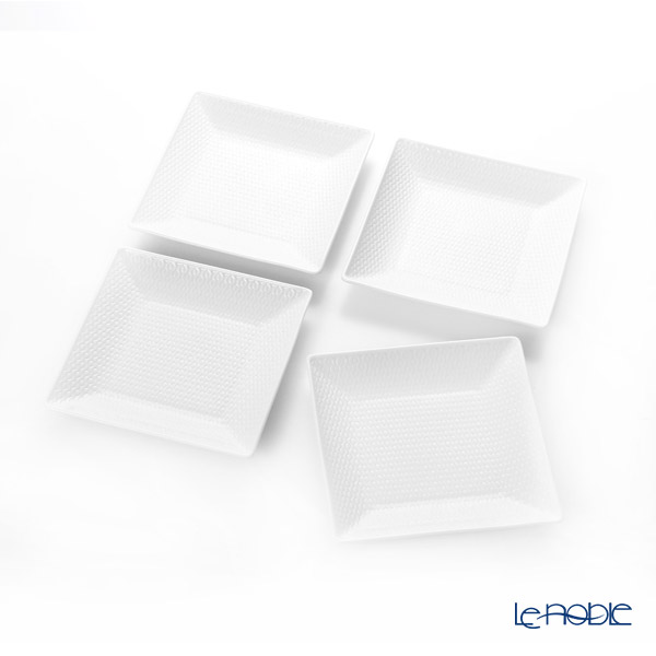 Wedgwood 'Gio' Mini Square Plate (set of 4)