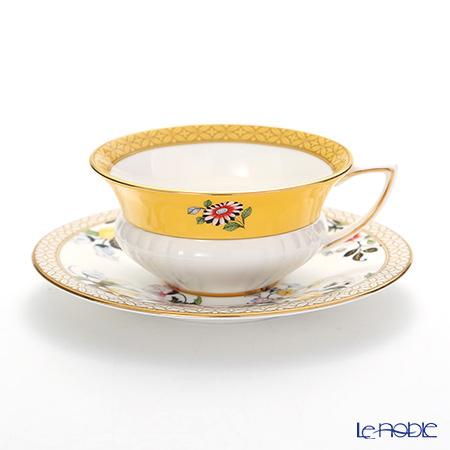 ウェッジウッド(Wedgwood) ハーレクィーンコレクション(ワンダーラスト) プリムローズ ティーカップ&ソーサー