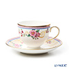 Wedgwood 'Columbia Blossom - Thomas Allen' Leigh Tea Cup & Saucer 200ml