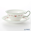 Wedgwood (Wedgwood) Bellerose Tea Cup & Saucer (peony)
