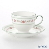 Wedgwood (Wedgwood) Bellerose Tea Cup & Saucer (Lee)