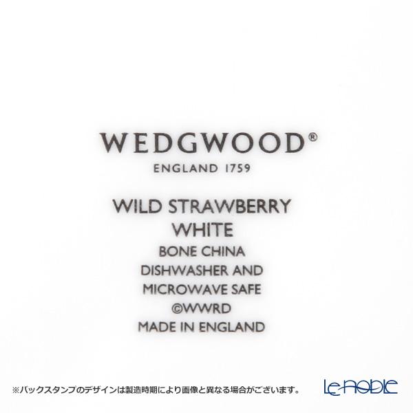 ウェッジウッド(Wedgwood) ワイルドストロベリー ホワイトプレート 21cm