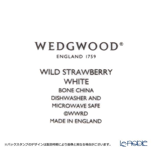 ウェッジウッド(Wedgwood) ワイルドストロベリー ホワイトプレート 27cm