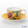Wedgwood Wonderlust Yellow Tonquin Tea Cup & Saucer Set