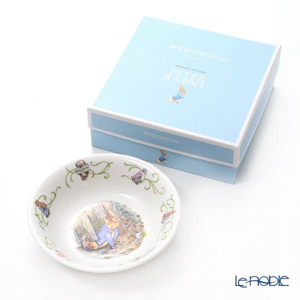 Wedgwood 'Peter Rabbit' Green Line Bowl 15.5cm [70th year Limited Production]