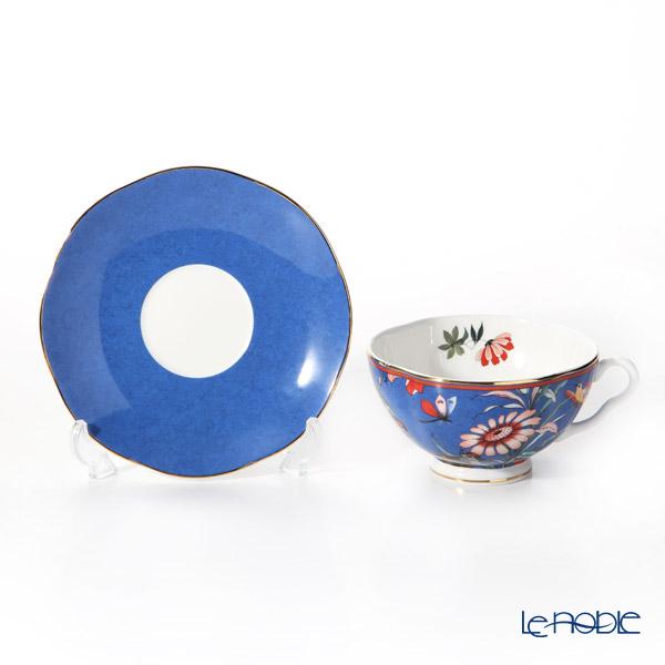 Wedgwood Peonia Blush Tea Cup & Saucer (250cc) Blue