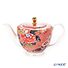 Wedgwood 'Paeonia Blush' Coral Pink Tea Pot 1000ml