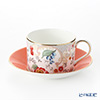 Wedgwood (Wedgwood) harlequirn collection (wanderlust) Rococo flowers Tea Cup & Saucer