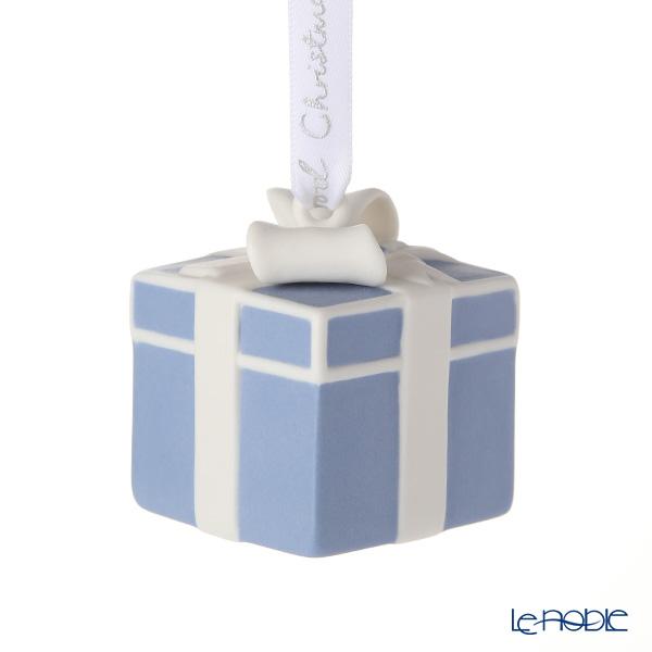 Wedgwood Holiday Ornament Gift Box Blue