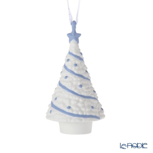 ウェッジウッド(Wedgwood) ホリデイ オーナメント クリスマスツリー ブルー