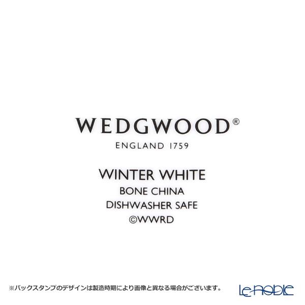 ウェッジウッド(Wedgwood) ウィンター ホワイトプレート 20cm 4枚セット