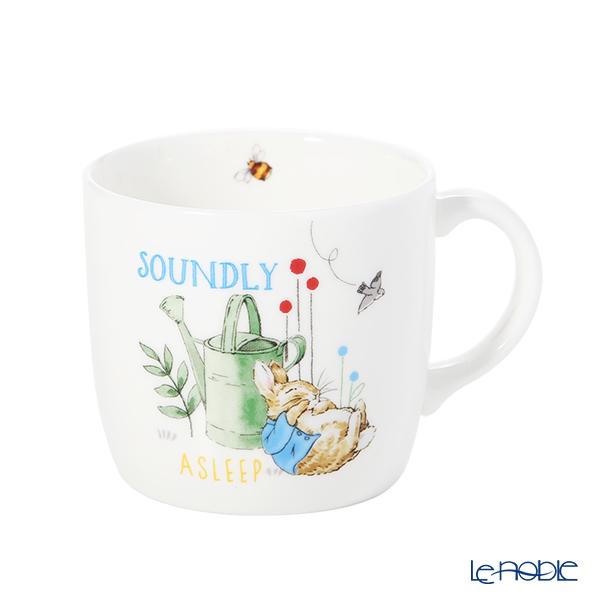 Wedwood Peter Rabbit Blue 3-piece set Mug & Plate Bowl with brand box