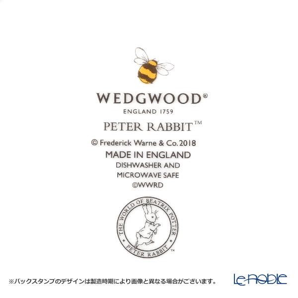 ウェッジウッド(Wedgwood) ピーターラビットプレート 18cm ブルー
