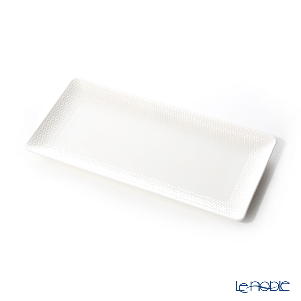 Wedgwood Gio Rectangular Tray 28cm