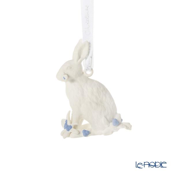 ウェッジウッド(Wedgwood) ホリデイ オーナメント ウサギ ホワイト 2019