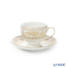 Wedgwood Gold Columbia Leigh Teacup & Saucer, 200 cc
