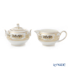 Wedgwood Gold Columbia Sugar & Creamer Set
