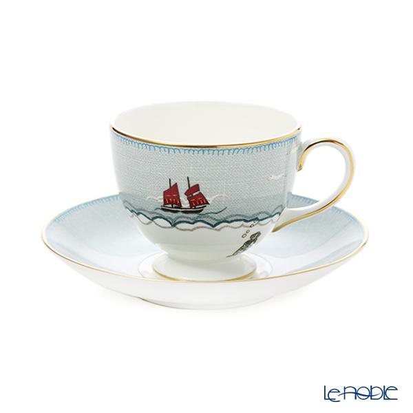 ウェッジウッド(Wedgwood) セイラーズ フェアウェル by Kit Kemp ティーカップ&ソーサー リー 200ml