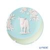Wedgwood 'Jasperware - Blue / Ox' 2021 Zodiac Tray 12.5cm