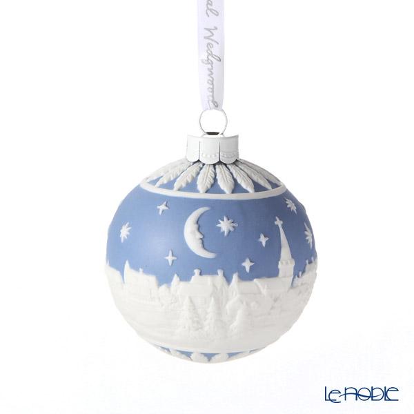 ウェッジウッド(Wedgwood) ホリデイ オーナメント ボール クリスマスの夜空8.3cm ブルー 2020年/令和2年
