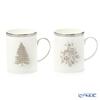 Wedgwood 'Winter White' Mug 375ml (set of 2 patterns)