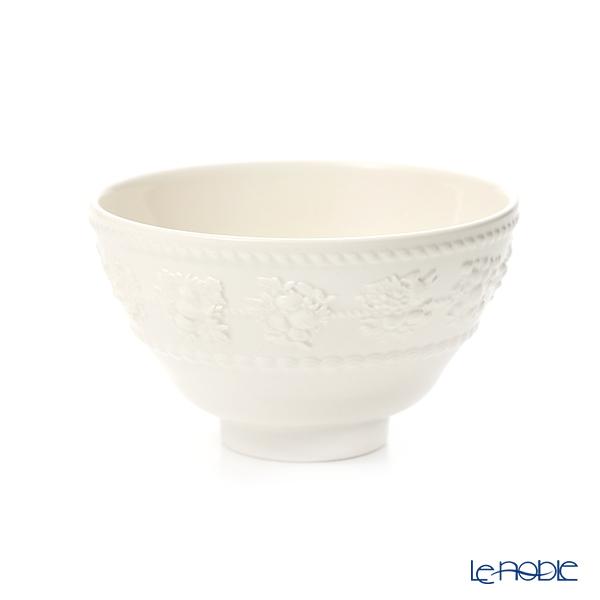 Wedgwood 'Earthenware - Festivity' Ivory Multi Bowl 11cm