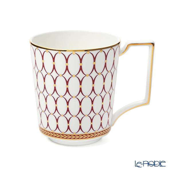 ウェッジウッド(Wedgwood) ルネッサンス レッド マグカップ 300ml