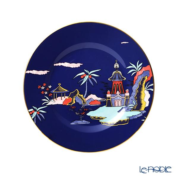 ウェッジウッド(Wedgwood) ハーレクィーンコレクション(ワンダーラスト) ブルーパゴダ プレート 20cm