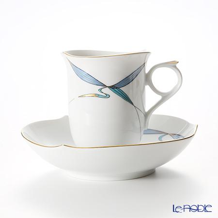 マイセン(Meissen) ウォーターバード ブルー 704610/28582コーヒーカップ&ソーサー 180cc