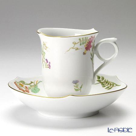 マイセン(Meissen) フローラ 704890/28582コーヒーカップ&ソーサー 180cc