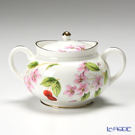 Aynsley Cherry Blossom Miniature sugar box