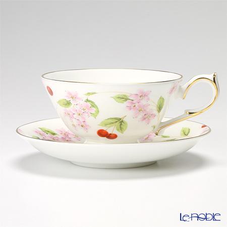 エインズレイ チェリーブロッサムティーカップ&ソーサー(アセンズ) 200ml